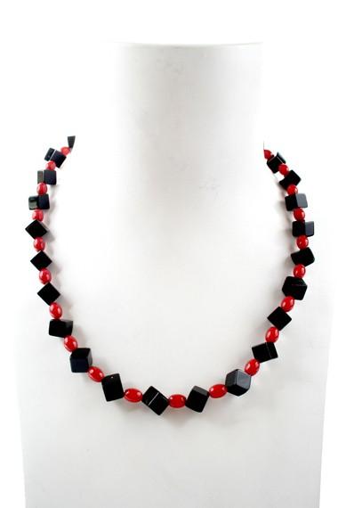 N004018 Agate Red Coral