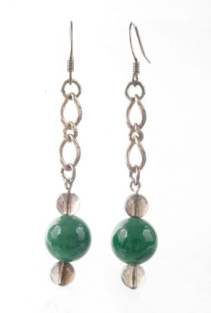 EP03448 Jade Smoky Chain