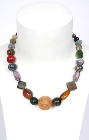 N004111 mixed gemstones